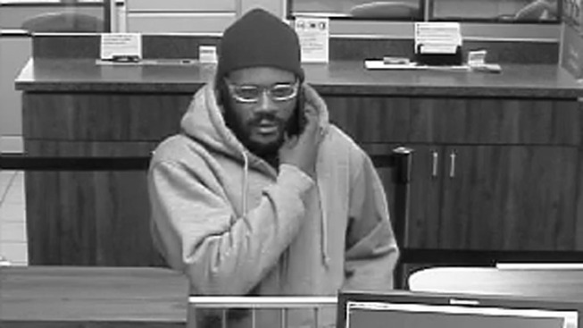 Robber Targets Delco Bank