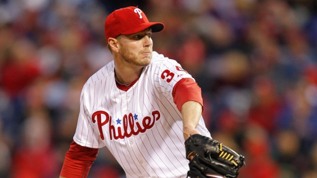 Halladay Dominates in Win Over Marlins