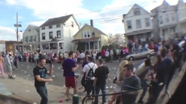 Caught on Cam: Several Arrested in Rutgers Street Party