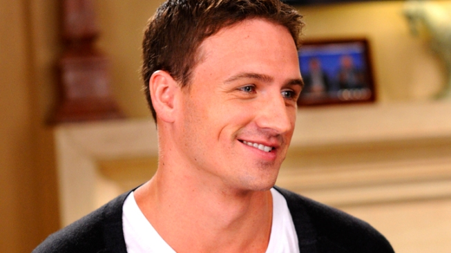 First Look Ryan Lochte on 30 Rock