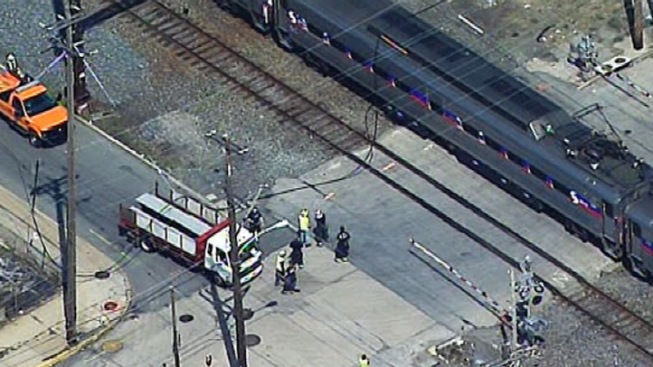 Downed Wire Stops Regional Rail Train