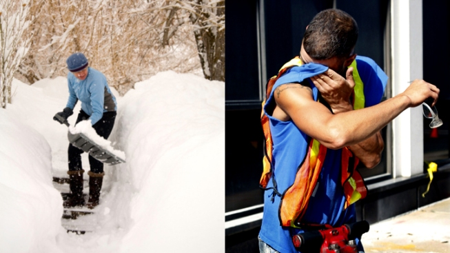 Snow Vs. Sweat: Which is Worse?