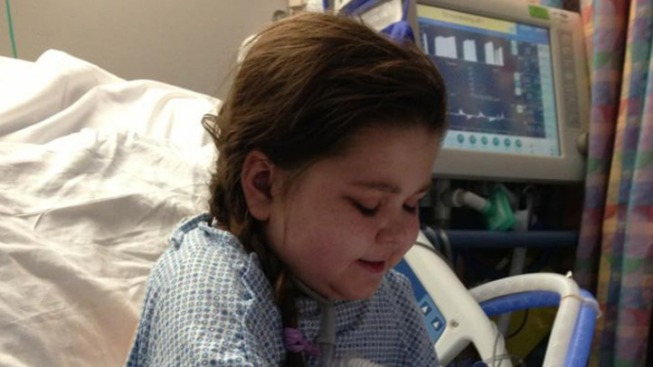Sarah Murnaghan Stands Up for 1st time in Months