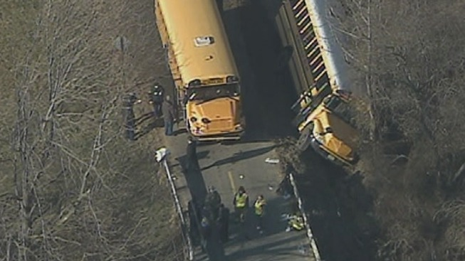 6 Students Hurt in NJ School Bus Accident