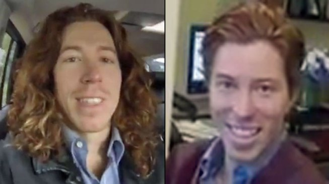 Olympic Snowboarder Shaun White Cuts Hair for Charity