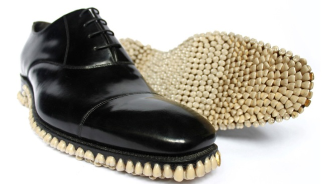 Classic Men's Shoe Gets a Toothy Makeover