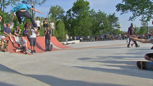 New Park Opens for Skateboarders