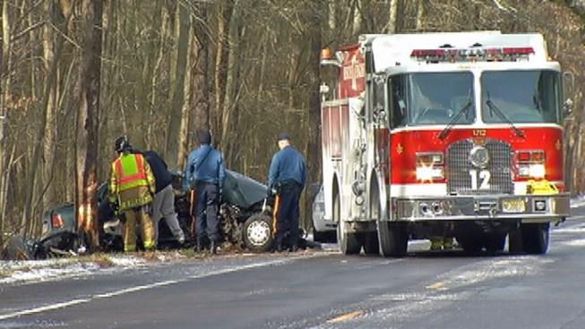 Passenger Dies in NJ Car Crash - NBC 10 Philadelphia