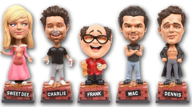 'It's Always Sunny' Debuts Bobbleheads