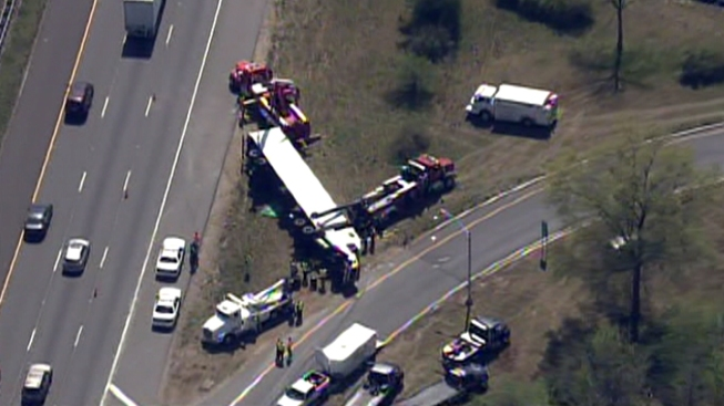 Tractor-Trailer Accident on 295 in S. Jersey