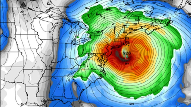 Hurricane's Blogs: A Stormy Sunday With Sandy?