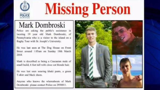 St. Joe's Rugby Player Missing in Bermuda