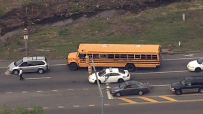 1 Injured in School Bus Accident