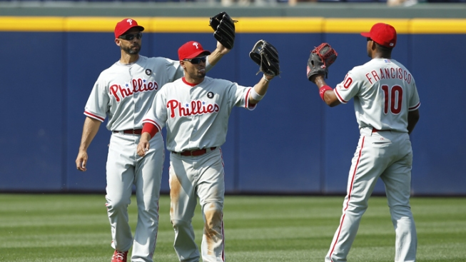 Phillies Win Series, Beat Braves 3-0