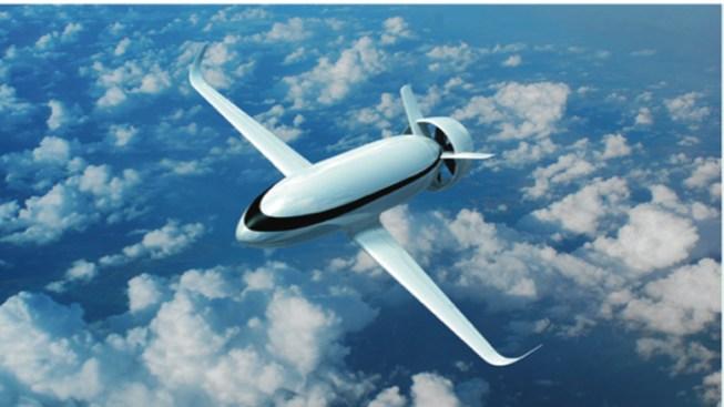 Jetmaker Unveils Electric Plane of Future