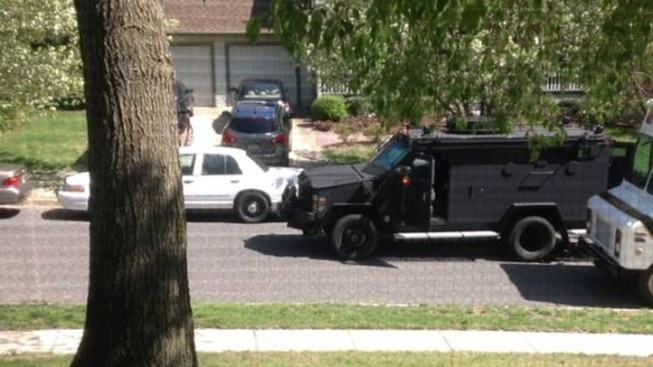 Parents Escape, Son Surrenders in Barricade Situation