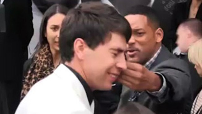 Will Smith Slaps Man Who Tried to Kiss Him