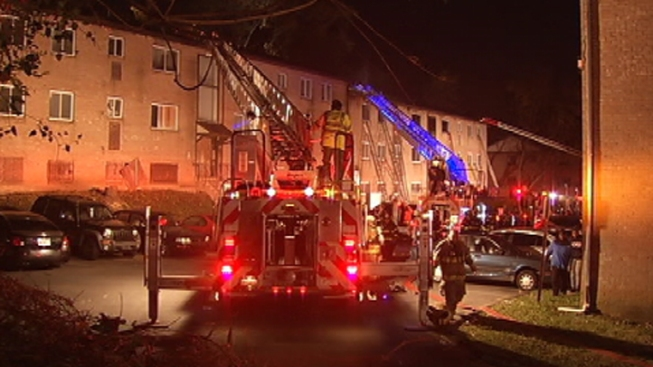 Dozens Displaced in Yeadon Apartment Fire