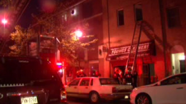 Fire Destroys Center City Cleaners