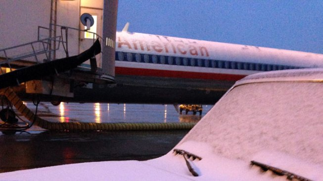 Weather Forces Airport to Cancel Flights