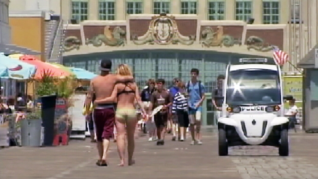 Asbury Park Repeals Boardwalk Bathing Suit Ban