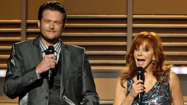 Blake Shelton, Reba Will Host ACM Awards Again This Year
