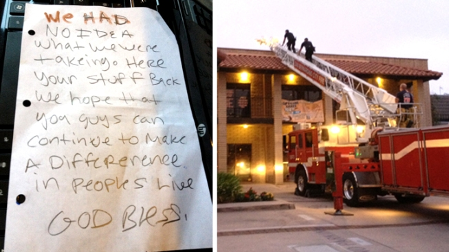 Burglars Return Stolen Computers to Nonprofit - Along With Apology Note