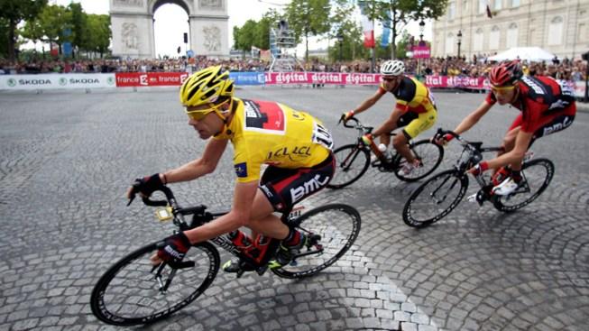 Cadel Evans Wins Tour de France