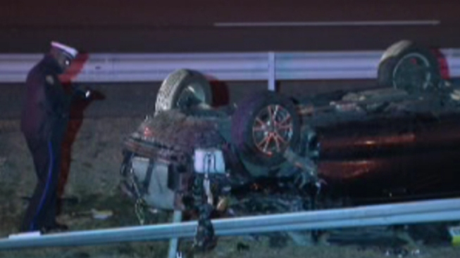 Woman Killed After Car Flips Over in Northeast Philadelphia