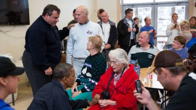 Christie Thanks Obama for Sandy Response