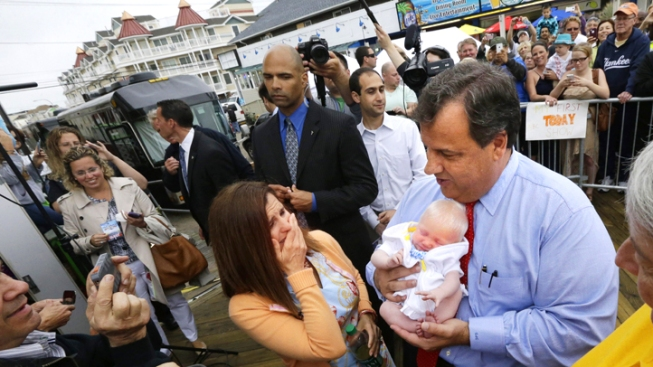 """Christie Co-Hosts """"Today"""" to Promote Post-Sandy NJ Shore"""