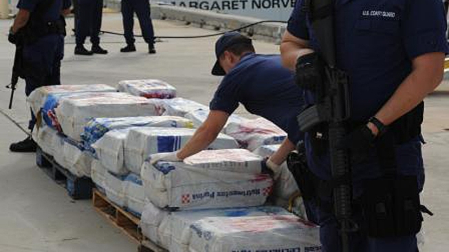 Coast Guard Offloads $35 Million in Cocaine in Miami Beach