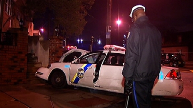 Philly Officer, 2 Others Injured in Logan Crash