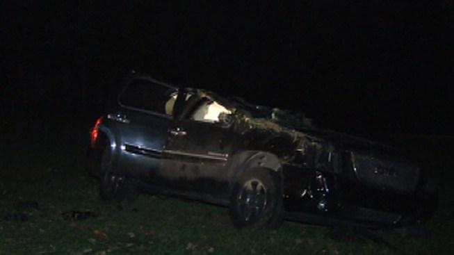 Philadelphia Car Crash Two Dead Nov