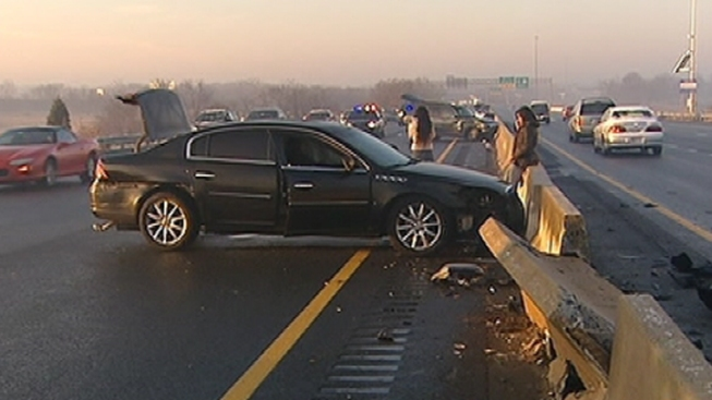 Icy Road Conditions Cause 48 Crashes on Major Del. Roads: Police