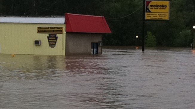 Evacuations Ordered in Darby Borough