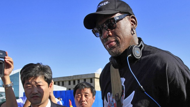 Rodman Holds Tryouts for Pyongyang Exhibition Game