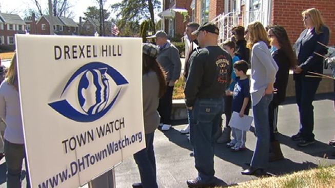 Drexel Hill Town Watch Meets in Wake of Recent Lewd Acts