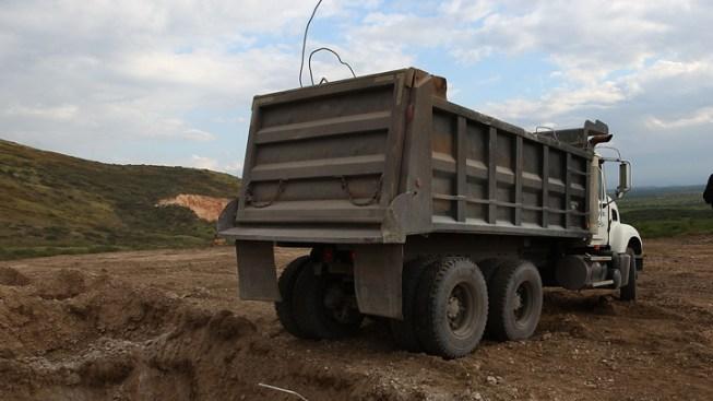 Man Killed When Dump Truck Falls On Him