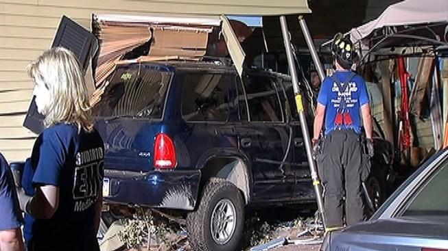 SUV Slams Into Bucks Co. Townhouse