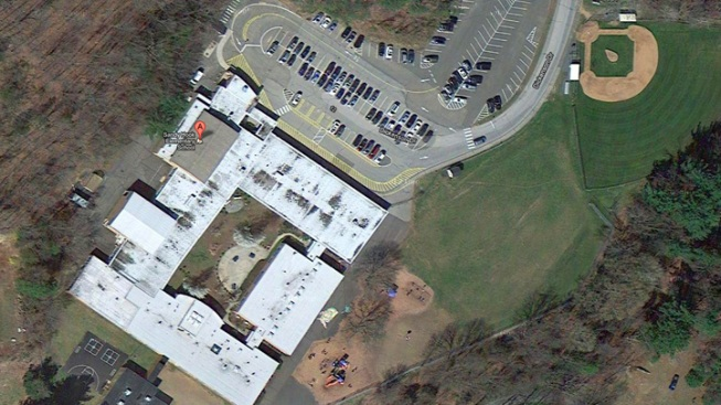 Half of Sandy Hook School Building Torn Down