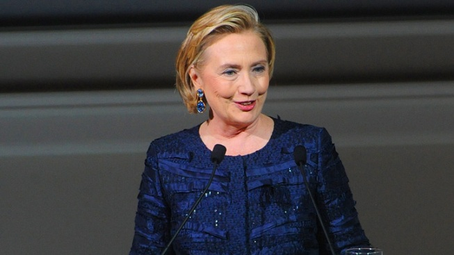 Hillary Clinton Speaks at Area Women's Conference