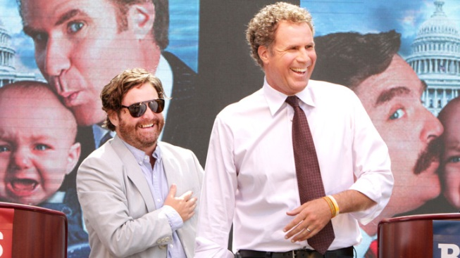 Ferrell, Galifianakis to Sign Constitution in Philly