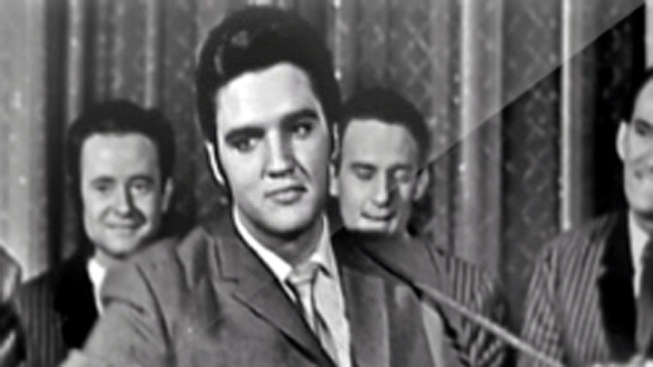 Elvis Presley's First Record Sells for $300,000
