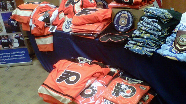 $350K in Fake Winter Classic Gear Seized