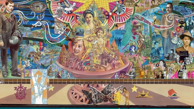 1st Filipino Mural on East Coast Revealed in Philly