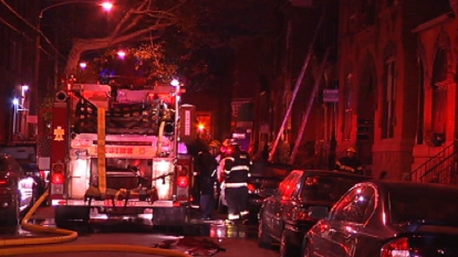 2 Injured in North Philly Fire