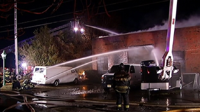 2-Alarm Fire Destroys Cherry Hill Auto Shop