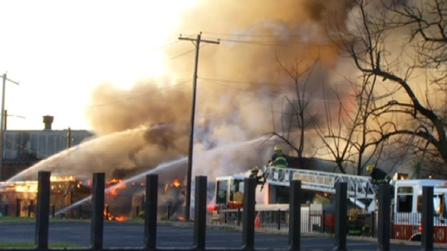 Power Restored After 3-Alarm Warehouse Fire