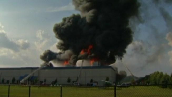 Small Rubbish Fire Days After Massive Warehouse Blaze